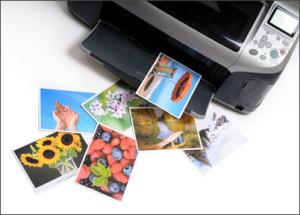 печать фотоснимков